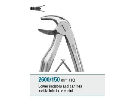 Pedodontic Tooth Forceps Lower Incisors and Canines