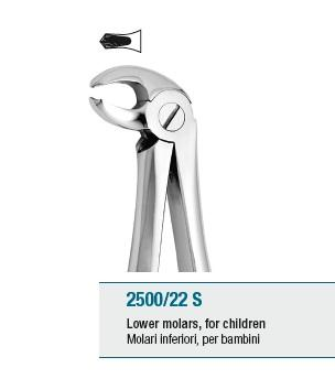 Pedodontic Tooth Forceps English Pattern Lower Molars