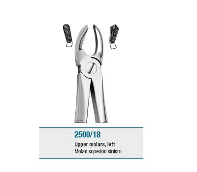 Anatomic Tooth Forceps English Pattern Upper Molars Left