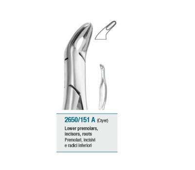 Tooth Forceps American Pattern Lower Incisors, Premolars, Roots